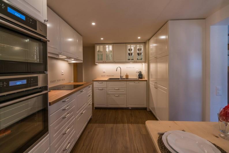 Location de vacances - Appartement à Grindelwald - cuisine