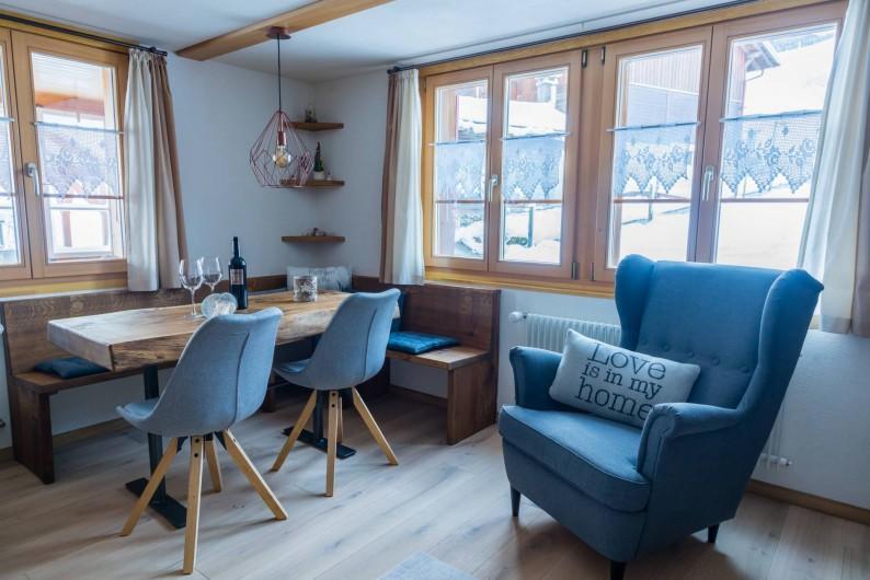Location de vacances - Appartement à Grindelwald - pergola