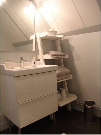 Location de vacances - Chambre d'hôtes à Acheux-en-Amiénois - Salle de Bains Séraphine