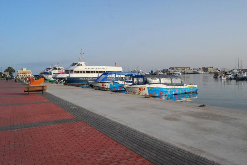 Location de vacances - Appartement à Santa Pola - Port, embarcadere pour l'ile de Tabarca