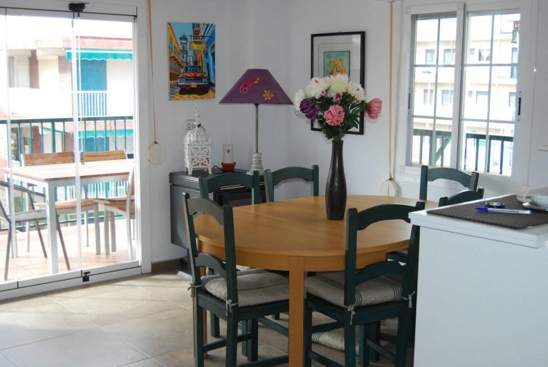 Location de vacances - Appartement à Santa Pola - Salon