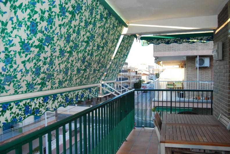 Location de vacances - Appartement à Santa Pola - Balcon