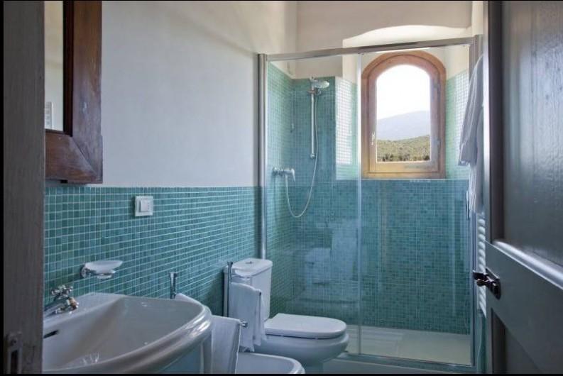 Location de vacances - Villa à San Donato In Collina - Salle de bain