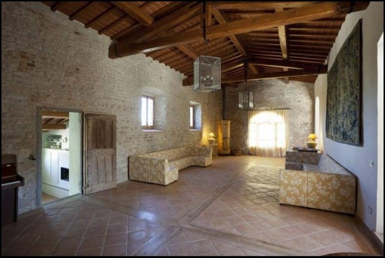 Location de vacances - Villa à San Donato In Collina - Grand salon