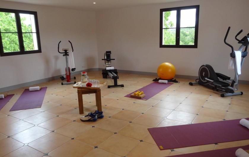 Location de vacances - Villa à Uzès - Gym