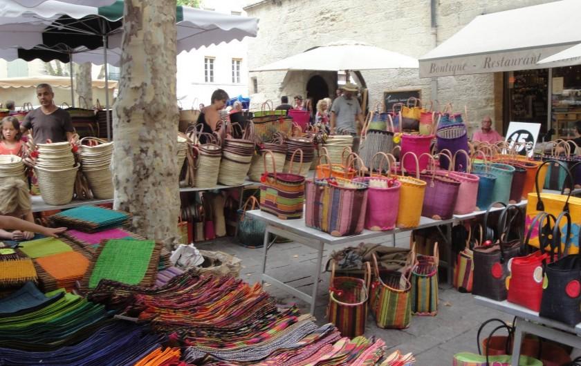 Location de vacances - Villa à Uzès - Uzes market