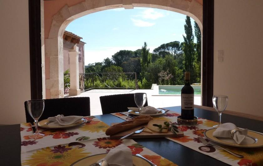 Location de vacances - Villa à Uzès - View from lounge