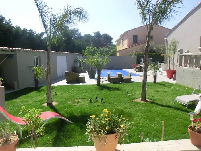 Loue petite maison de vacance avec piscine thuir for Petite maison avec piscine