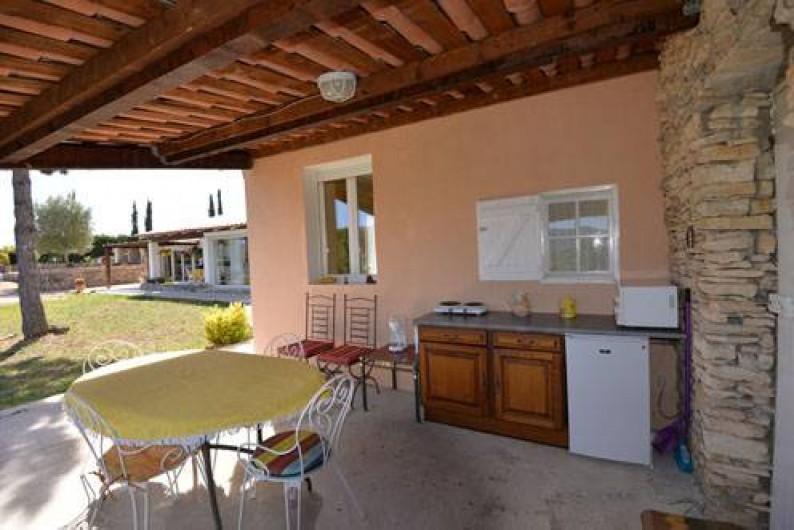 """Location de vacances - Chambre d'hôtes à Apt - chambre """"Colorado"""" entrée indépendante terrasse cuisinette"""