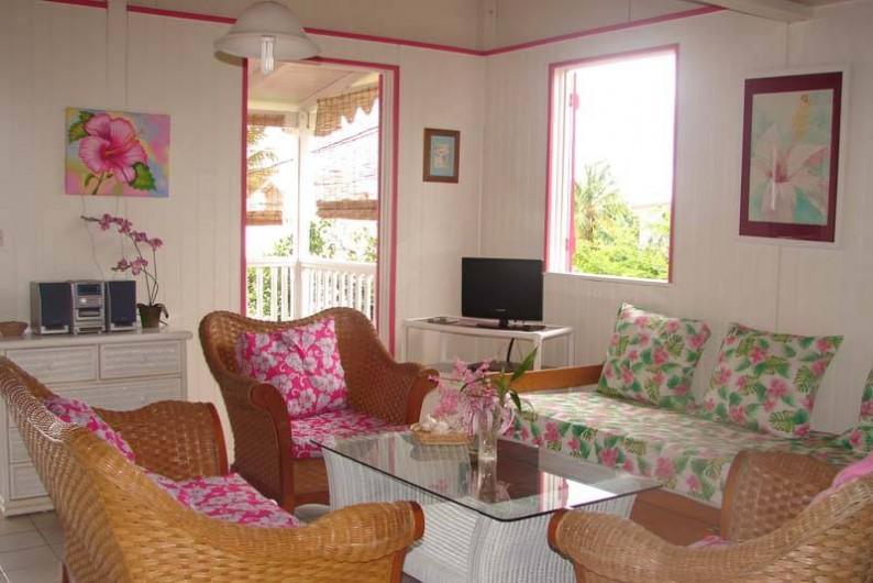 Location de vacances - Bungalow - Mobilhome à Sainte-Anne - Hibiscus