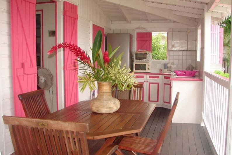 Location de vacances - Bungalow - Mobilhome à Sainte-Anne - Hibiscus
