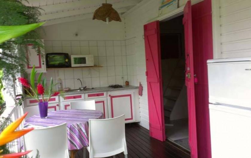 Location de vacances - Bungalow - Mobilhome à Sainte-Anne - Alamanda