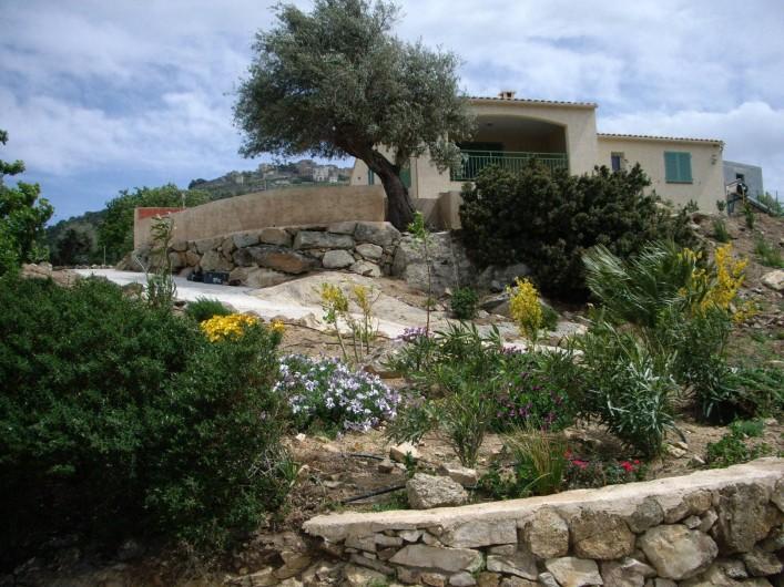 Location de vacances - Villa à Aregno - Vue de la location