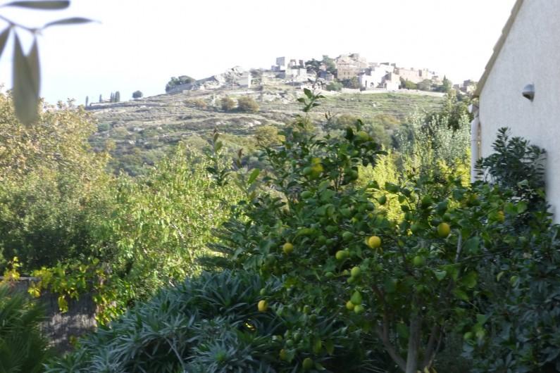 Location de vacances - Villa à Aregno - Sant Antonino au dessus de la villa