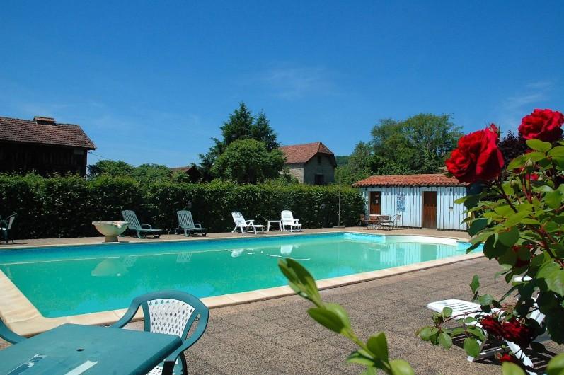 Location de vacances - Hôtel - Auberge à Vezac - PISCINE DE L 'HOTEL