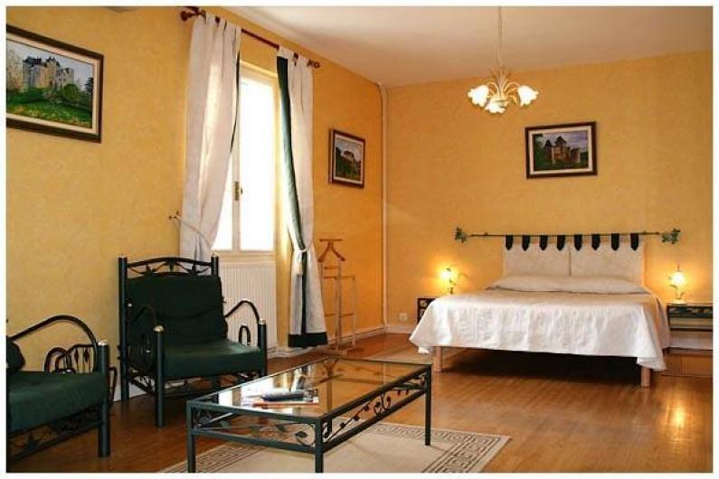 Location de vacances - Hôtel - Auberge à Vezac - Chambre Marqueyssac.  Chambre chambre luxe supérieure