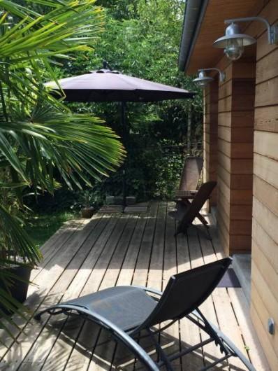 Location de vacances - Chambre d'hôtes à Mérignac - terrasse