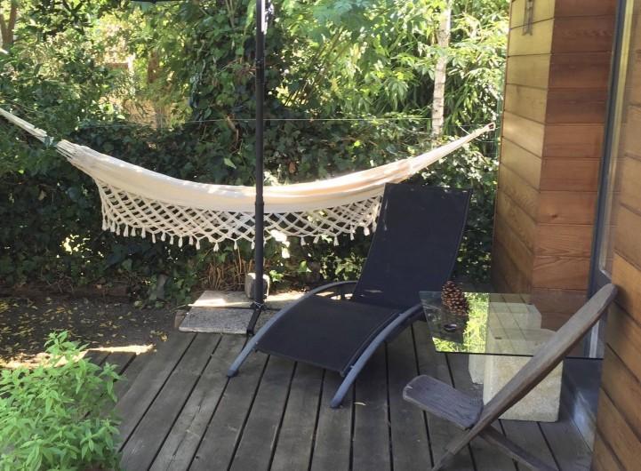 Location de vacances - Chambre d'hôtes à Mérignac - La terrasse