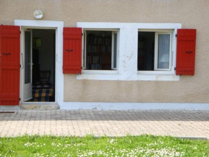 Location de vacances - Studio à Les Rousses - Accès direct sur terrasse