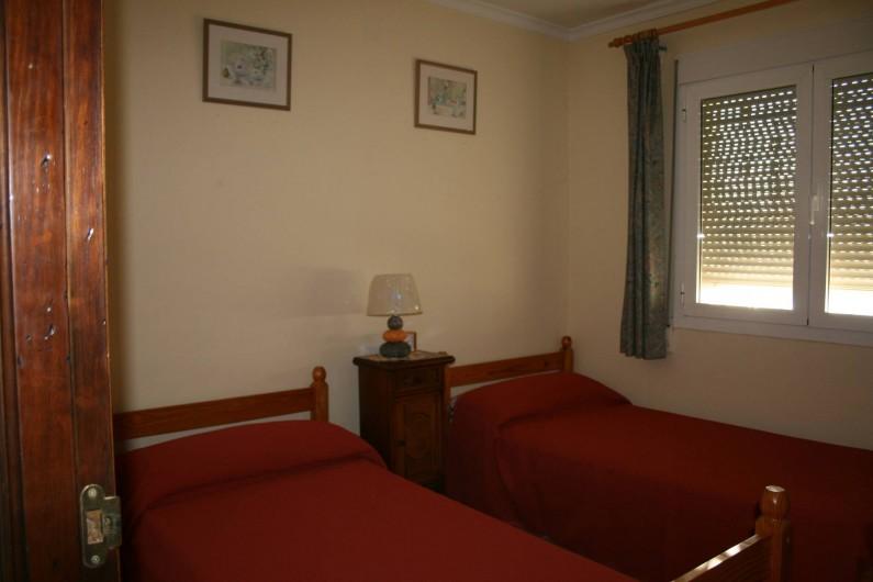 Location de vacances - Villa à Xàbia - chambre du haut