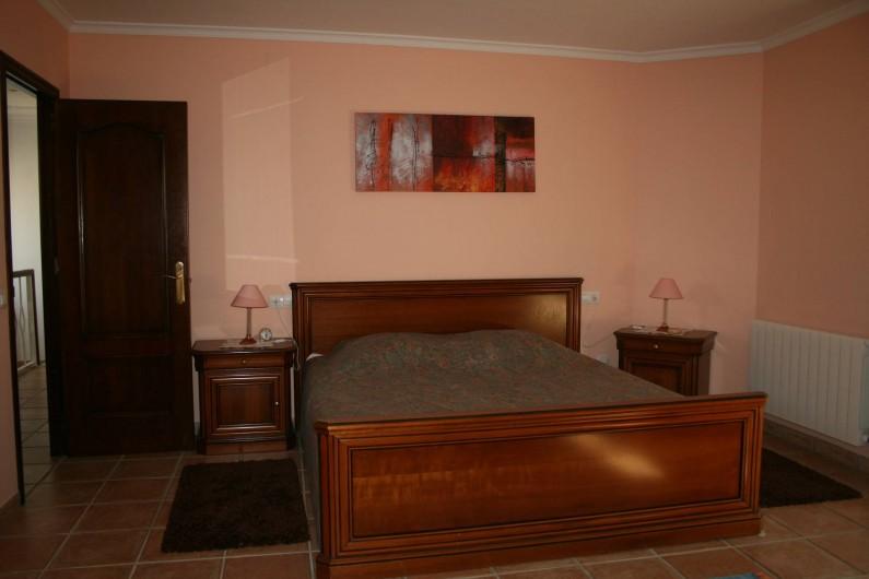 Location de vacances - Villa à Xàbia - Très grande chambre parentale avec terrasse