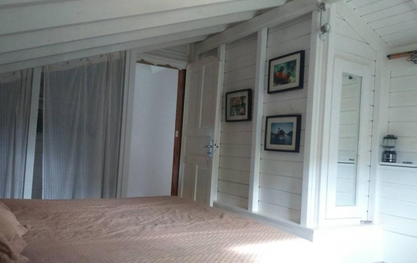 Location de vacances - Chambre d'hôtes à Sainte Rose - Chambre dans la case  vu grand cul de sac