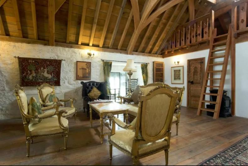 Location de vacances - Château - Manoir à Cortoon - Top floor lounge