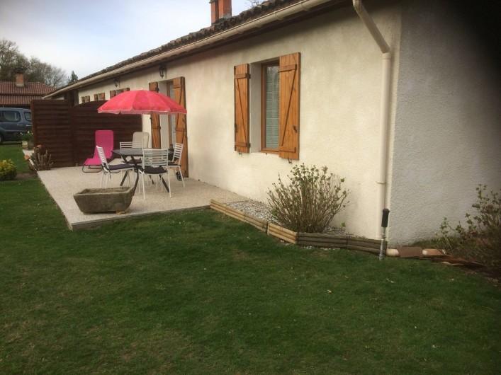 Location de vacances - Gîte à Lue - avec la végétations : pas de vue sur les autres locataires 2ème logement