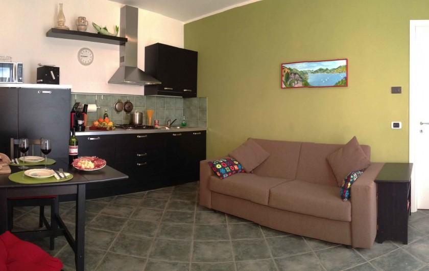 Location de vacances - Appartement à Bellano - appt 703 - le salon