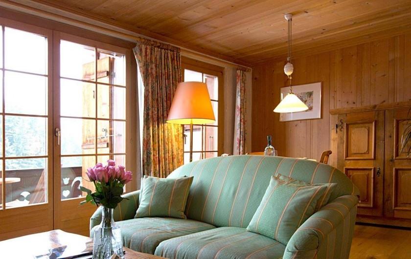 Location de vacances - Hôtel - Auberge à Schönried - Suite 12 & 18