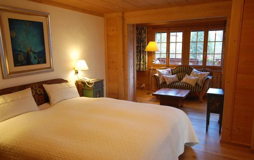 Location de vacances - Hôtel - Auberge à Schönried - Suite Chantal