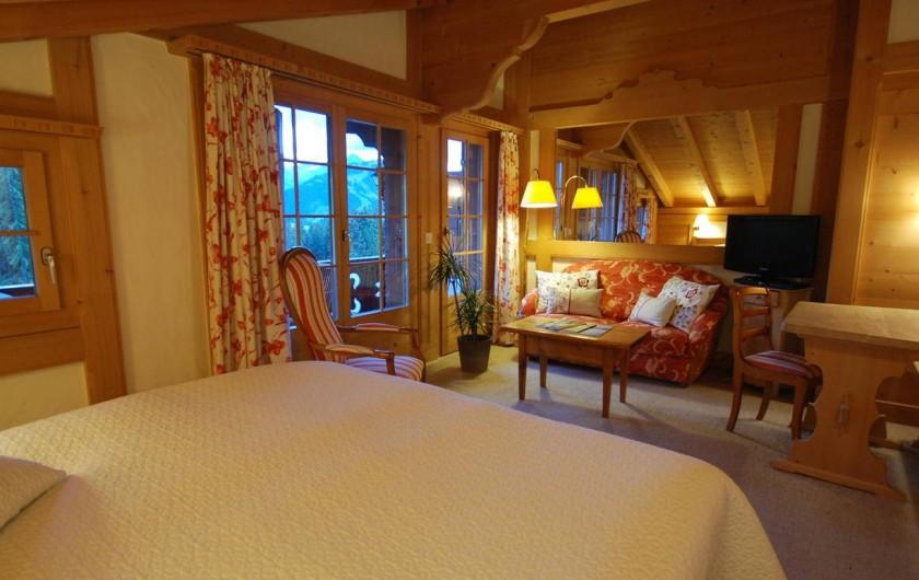 Location de vacances - Hôtel - Auberge à Schönried - Chambre Deluxe Wildhorn