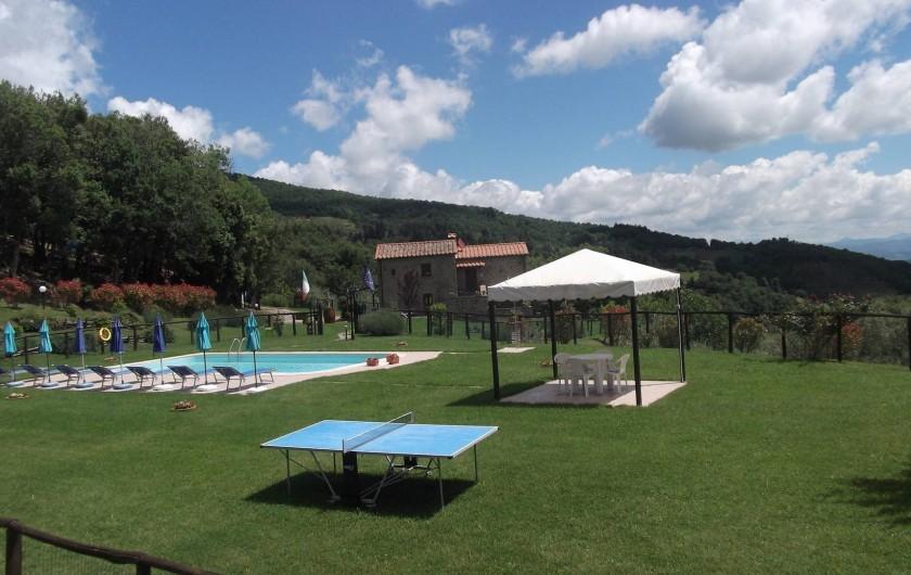 Location de vacances - Appartement à Cortona - Appartement Mimosa: niveau du sol d'entrée
