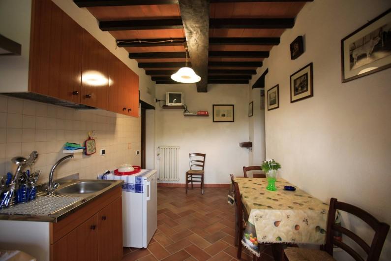 Location de vacances - Appartement à Cortona - Appartement Mimosa: Cuisine