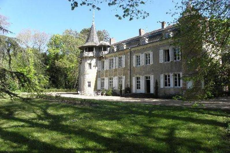 Location de vacances - Château - Manoir à Ourouer-les-Bourdelins - Vue Avant