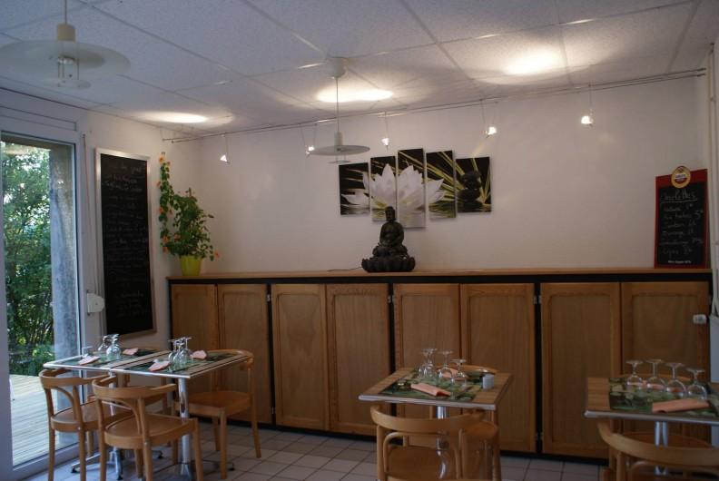 Location de vacances - Chalet à Riotord - Salle de restauration
