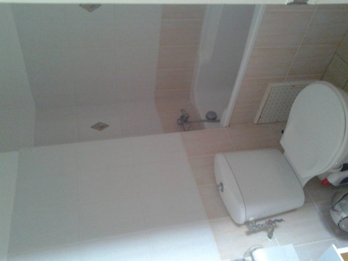 Location de vacances - Villa à Le Lamentin - Salle de bain chambre principale