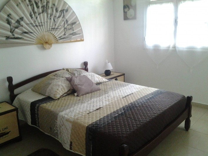 Location de vacances - Villa à Le Lamentin - Chambre marron n°2