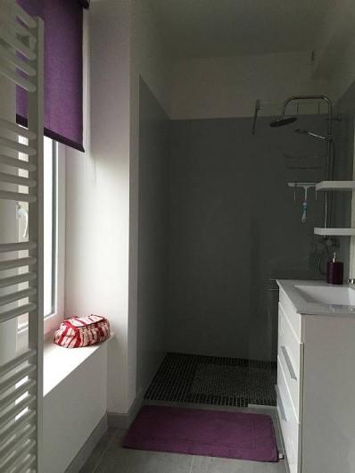 Location de vacances - Appartement à Saint-Malo - douche à l'italienne