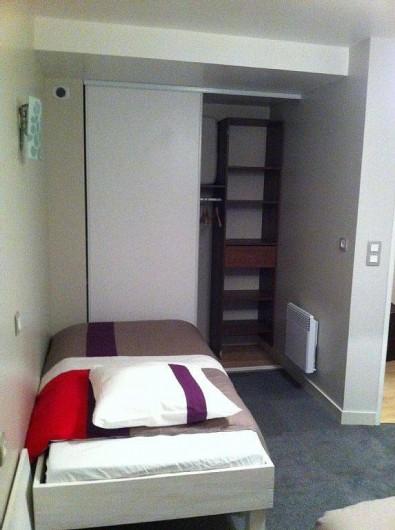 Location de vacances - Appartement à Saint-Malo - lit de 90 de large