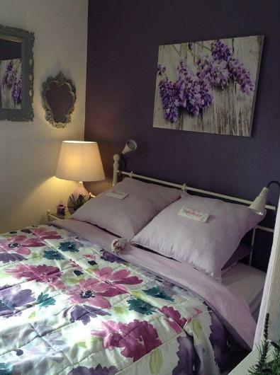Location de vacances - Maison - Villa à Portiragnes - chambre avec lit de 140