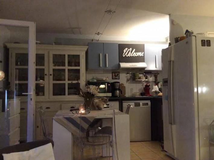 Location de vacances - Maison - Villa à Portiragnes - living côté cuisine