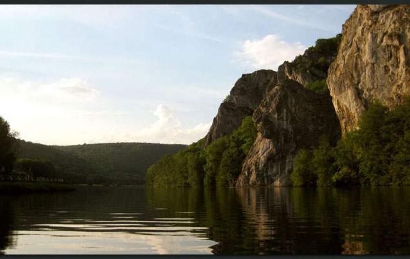 Location de vacances - Gîte à Waulsort - Les rochers de Freyr