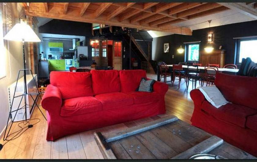 Location de vacances - Gîte à Waulsort - Le salon