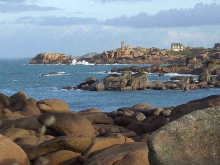 Location de vacances - Appartement à Trévou-Tréguignec - La côte de granit rose