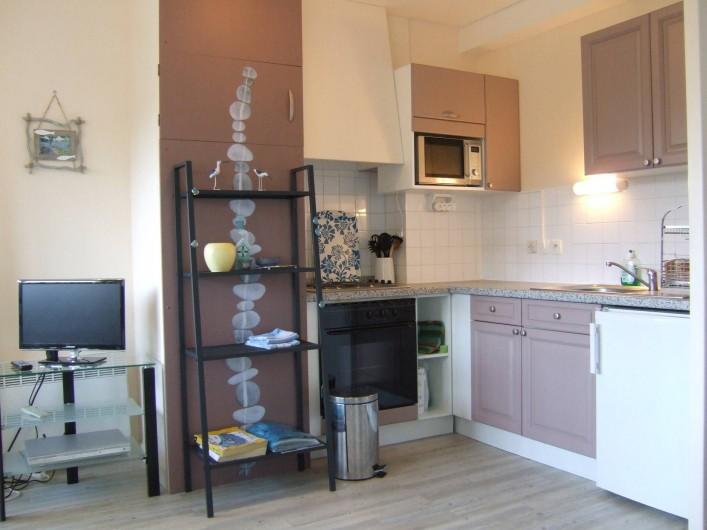 Location de vacances - Appartement à Trévou-Tréguignec - La cuisine