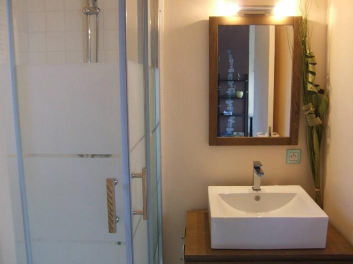 Location de vacances - Appartement à Trévou-Tréguignec - La salle d'eau