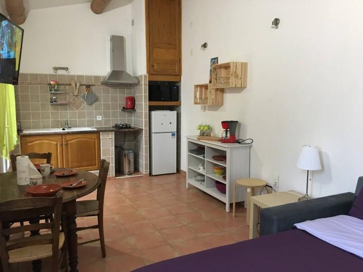 Location de vacances - Gîte à Carpentras - Studio le Cabanon