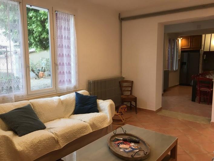 Location de vacances - Gîte à Carpentras - Chambre avec lits superposés