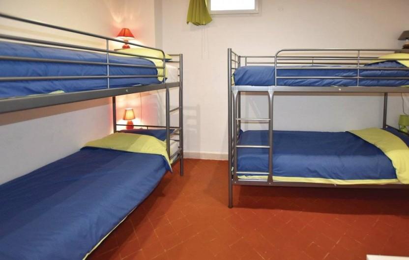 Location de vacances - Gîte à Carpentras - Chambre lits superposés (4 couchages)
